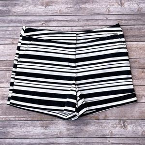 Apartment 9 Essentials Black White Striped Cuffed